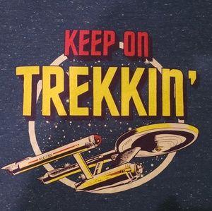 Star Trek Keep Trekkin' tshirt
